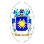 Abraham Sticker (Oval 10 pk)