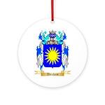 Abraham Ornament (Round)