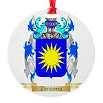 Abrahams Round Ornament