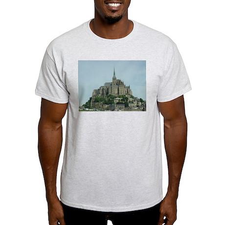 Mont Saint Michel Ash Grey T-Shirt