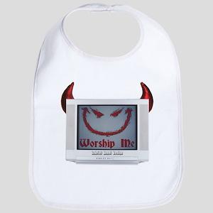 Devil TV Bib