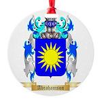 Abrahamson Round Ornament