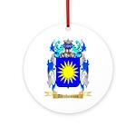 Abrahamson Ornament (Round)
