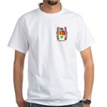 Abrahmsen White T-Shirt