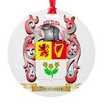 Abrahmsen Round Ornament