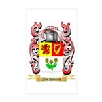 Abrahmsen Sticker (Rectangle 50 pk)