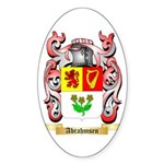 Abrahmsen Sticker (Oval 50 pk)