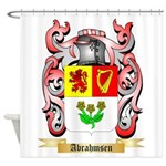 Abrahmsen Shower Curtain