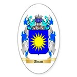 Abram Sticker (Oval 50 pk)