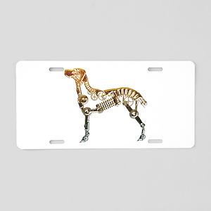 Industrial dog Aluminum License Plate
