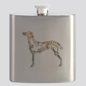 Industrial dog Flask