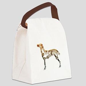 Industrial dog Canvas Lunch Bag