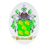 Abreu Ornament (Oval)