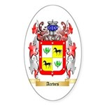 Aceves Sticker (Oval 50 pk)