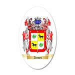 Aceves 20x12 Oval Wall Decal