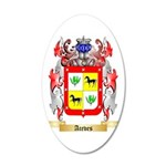 Aceves 35x21 Oval Wall Decal