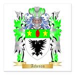 Acheson Square Car Magnet 3