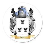 Achille Round Car Magnet