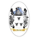 Achille Sticker (Oval 10 pk)