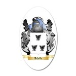 Achille 20x12 Oval Wall Decal