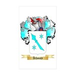 Achmuty Sticker (Rectangle 50 pk)