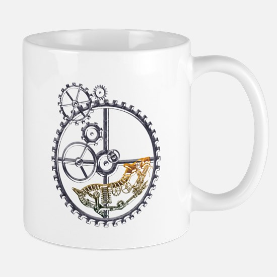Industrial Hamster in a wheel Mug