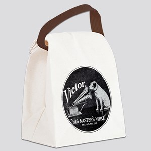 His Masters voice Canvas Lunch Bag