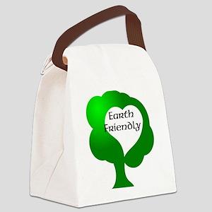 Earth Friendly Canvas Lunch Bag