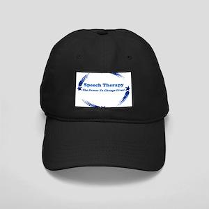 Power of Speech Therapy Black Cap