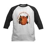 Gaelic Harvest Pumpkin Kids Baseball Jersey
