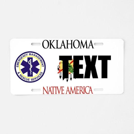 Oklahoma EMS Custom License Plate