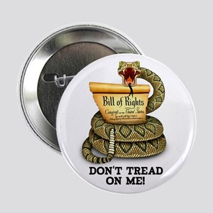 """DTOM - Don't Tread on Me! 2.25"""" Button"""
