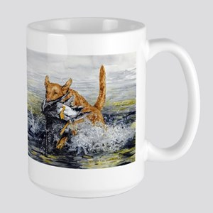Chesapeake Bay Retriever Large Mug Mugs