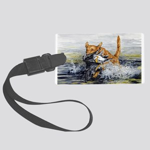 chesapeake Bay Retriever Large Luggage Tag