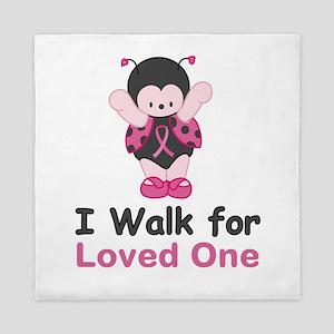 Walk For Ladybug Queen Duvet