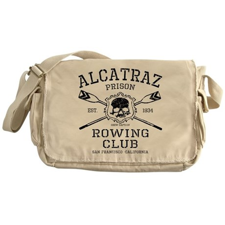 Alcatraz Rowing club Messenger Bag
