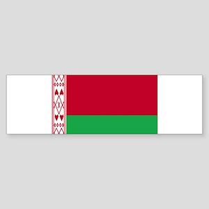 Flag of Belarus Sticker (Bumper)