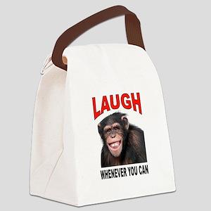 LAUGH Canvas Lunch Bag