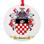 Ackary Round Ornament