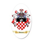 Ackary Oval Car Magnet