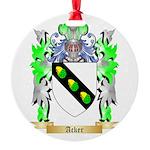 Acker Round Ornament