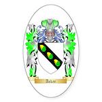 Acker Sticker (Oval 10 pk)