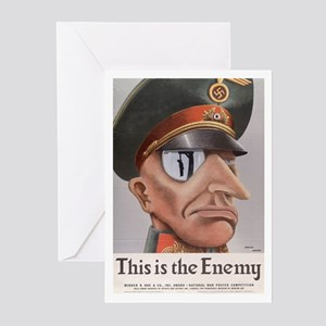 THIS IS THE ENEMY Greeting Cards (Pk of 10)