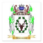 Ackermann Square Car Magnet 3