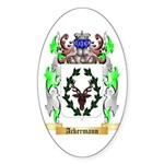 Ackermann Sticker (Oval 10 pk)