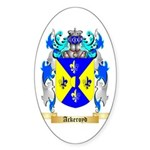 Ackeroyd Sticker (Oval 50 pk)