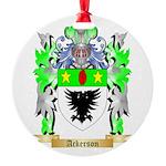 Ackerson Round Ornament