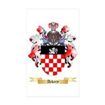 Ackery Sticker (Rectangle 50 pk)