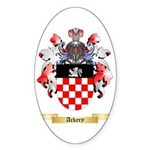 Ackery Sticker (Oval 10 pk)