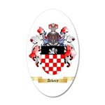 Ackery 20x12 Oval Wall Decal